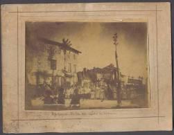 Photographie De MONTPEZAT De QUERCY  En Tarn Et Garonne - Reposoir Du Boulevard - Fête Dieu - 1898 - Voir Scan - Places