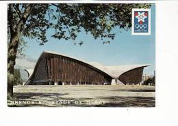 Carte 1968  GRENOBLE /  Le Stade De Glace - Grenoble
