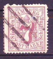 Nr 19, Michel = 20 € (X0388) - Hamburg