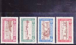 LIECHTENSTEIN - YVERT N°78/81 * - COTE = 85 EUROS - Liechtenstein
