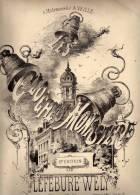 Partition Très Ancienne: Les Cloches Du Monastère, Nocturne Par Lefébure - Wely. - Scores & Partitions
