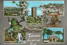 FRIULI VENEZIA GIULIA - TARCENTO (Udine) - 4 Vedute - Udine