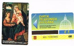 VATICANO-VATICAN-VATICAN CITY  CAT. C&C   6112 - SACRA  FAMIGLIA (PART.) - BONIFACIO VERONESE - Vaticano