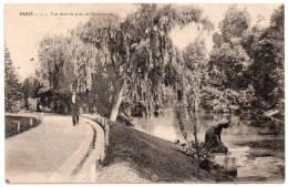 Cpa Paris - Vue Dans Le Parc De Montsouris - 1907 - Parks, Gärten