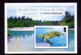 British Indian Ocean Turtle Cove Souv Sht Mint NH  (Marine Life) - British Indian Ocean Territory (BIOT)