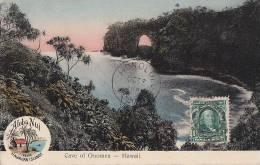 Hawai - Honolulu - Cave Of Onomea - Grotte -  Postal Mark - Honolulu