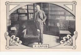 Célébrités - Littérature - Ecrivains - Bureau Bibliothèque A. Capus - Art Nouveau - Ecrivains