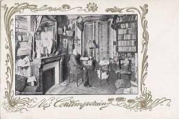 Célébrités - Littérature - Ecrivains - Art Nouveau  - Léopold Lacour - Ecrivains