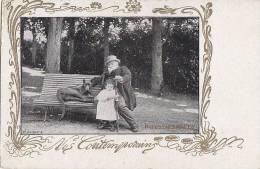 Célébrités - Littérature - Ecrivains - Art Nouveau  - Francisque Sarcey - Dogue - Ecrivains