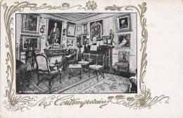 Célébrités - Littérature - Ecrivains - Art Nouveau - Bureau Larroumet - Ecrivains