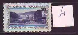 FRANCE. TIMBRE. VIGNETTE. ERINNOPHILIE. TROUPES METROPOLITAINES. .......EPINAL - Militärmarken