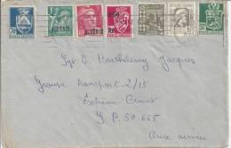 ALGERIE  -  1945  -   LETTRE D´ ALGER  - SERVICES AUX ARMEES  -  TB  - - Algérie (1924-1962)