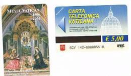 VATICANO-VATICAN-VATICAN CITY  CAT. C&C   6142  -  MUSEI VATICANI 1506-2006. ANNUNCIAZIONE.PINTURICCHI O - Vaticano