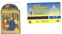 VATICANO-VATICAN-VATICAN CITY  CAT. C&C   6140 - NATIVITA´ (SEC.XV). LIBRO D´ORE DEL DUCA DI YORK - Vaticano