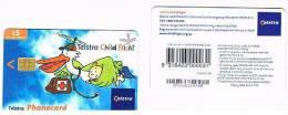 AUSTRALIA - TELSTRA    (CHIP) -  2002 CHILD FLIGHT     EXP. 12.2005      - USED  -  RIF. 3815 - Australia
