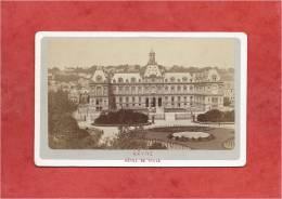 France - LE HAVRE - Photo De 1873 - Hôtel De Ville - Dimensions 10,6 X 6,7 - 2 Scans - Anciennes (Av. 1900)