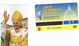 VATICANO-VATICAN-VATICAN CITY  CAT. C&C    6138 - PAPA BENEDETTO XVI - Vaticano