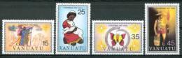 1981 Vanuatu Natale Christmas Noel Set MNH** Nat42 - Vanuatu (1980-...)