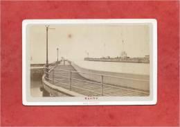 France - LE HAVRE - Photo De 1873 - Les Jetées - Dimensions 10,6 X 6,7 - 2 Scans - Photographs
