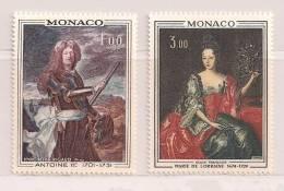 MONACO  ( D14 - 1658  )   1972   N° YVERT ET TELLIER  N° 874/875     N** - Monaco