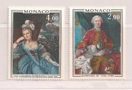 MONACO  ( D14 - 1680  )   1975   N° YVERT ET TELLIER  N° 1029/1030     N** - Monaco