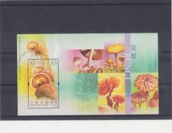 HONG KONG 2004 Used Block With Mushrooms. - Paddestoelen