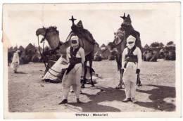1934. Libia. Tripoli. Meharisti. (VIAGGIATA). - Libië
