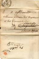 MARQUE DEBOURSE: DEB 15 ANGOULEME .  .  .DB 1 - 1801-1848: Precursors XIX