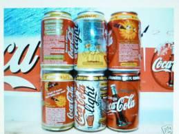 """Coca Cola   SERIE """" Mettiti In Contatto E Vinci...""""  ITALIA 1999     Vintage Vuote - Cannettes"""