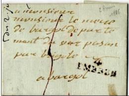 HAUTES ALPES -  4 / EMBRUN  PORT DU . PD 12 - 1801-1848: Precursors XIX