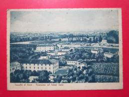 Fossalta Di Piave (VE) - Panorama Col Fiume Sacro - 1943 - Viaggiata - Altre Città