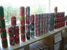 Coca Cola  Lattine   Inizio Collezione - Cannettes