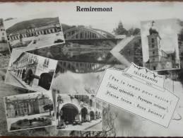 88 - REMIREMONT - Multivues. (CPSM Télégramme) - Remiremont