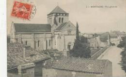 MONTAGNE-- VUE GENERALE- EGLISE - France