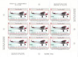 SMOM 2010 40° ANNIVERSARIO FONDAZIONE C.I.S.O.M. MINIFOGLIO INTEGRO - Sovrano Militare Ordine Di Malta