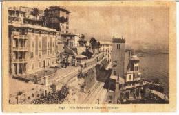 PEGLI (GE) - VILLA BELVEDERE E CASTELLO WIANSOR - F/P - V: 1951 - Genova (Genoa)