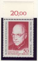 1980 Germany Berlin Complete MNH Katholic Day Set Of 1 Stamp  Michel # 624 - Unused Stamps