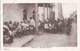 Djibouti Restaurant Indigene Dschibuti TOP-Erhaltung Ungelaufen - Dschibuti