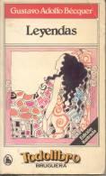 LEYENDAS GUSTAVO ADOLFO BECQUER 335 PAGINAS AÑO 1980 - Classical