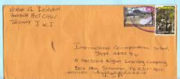 Jamaika Jamaica Jamaique Brief Cover Lettre 937 968 Bäume Pflanzen - Weihnachten Park  (22933) FFF - Giamaica (1962-...)