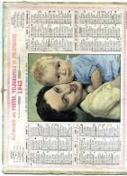 Calendrier Des Poste Du  Finistère  22  Complet  De 1943 - Big : 1941-60