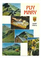 Cp, 15, Le Puy Mary, Multi-Vues - France