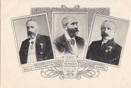 Célébrités - Littérature - Ecrivains - Sully Prudhomme Hérédia Sorel - Légion D'Honneur - Ecrivains