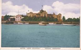 H H 370/ C P A -      NASSAU  BAHAMAS  -HOTEL NEW COLONIAL - Christmas Island