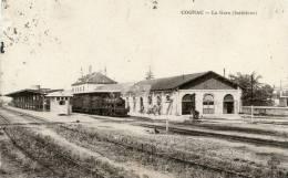 R16714 Cpa 16 Cognac - La Gare (intérieur) - Cognac