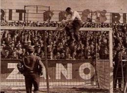 Etonnant LILLE Stade  Barre Transversale Brisée Lors Du Match LOSC Nîmes 1959 - Documentos Antiguos