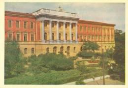 Ukraine, Lvov, Polytechnical Institute, 1962 Unused Postcard [11744] - Ukraine