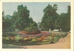 Ukraine, Lvov, Garden On Lenin Prospect, 1962 Unused Postcard [11747] - Ukraine