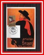 """CM De 1990 N° YT 2649 """" ARISTIDE BRUANT """". Parfait état - 1990-99"""