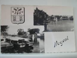 94 NOGENT SUR MARNE - REGATES - L'EMBARCADERE (EDITION RAYMOND BRUNOY N° 319) - Nogent Sur Marne